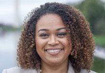 Portrait of Cara James, Ph. D.