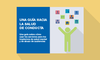 Spanish language cover of the behavioral health roadmap