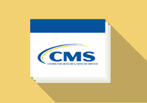 Illustration of a CMS presentation.