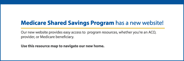 Shared Savings Program - Centers For Medicare & Medicaid Services