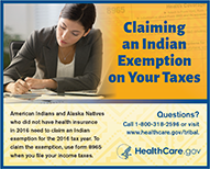 Claiming an Indian Exemption on your Taxes