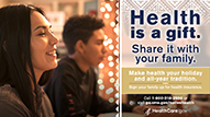 Health is a gift: share it with your family