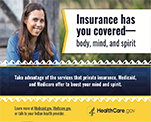 Insurance has you covered - body, mind, and spirit