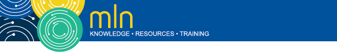 Medicare Learning Network (MLN) Logo: Knowledge, Resources, Training