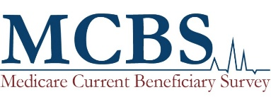 Medicare Current Beneficiary Survey (MCBS)  banner. Click to request MCBS data from the Research Data Assistance Center (ResDAC).