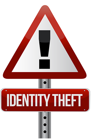 Image Depicting Identity Theft Alert
