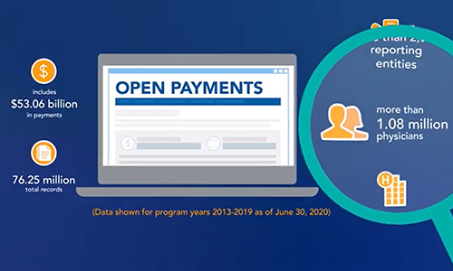 Image Depicting the Open Payments Video