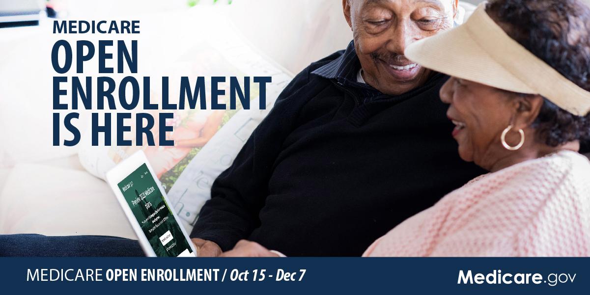 Medicare Open Enrollment Starts Oct. 15