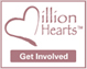 Million Hearts Get Involved Logo